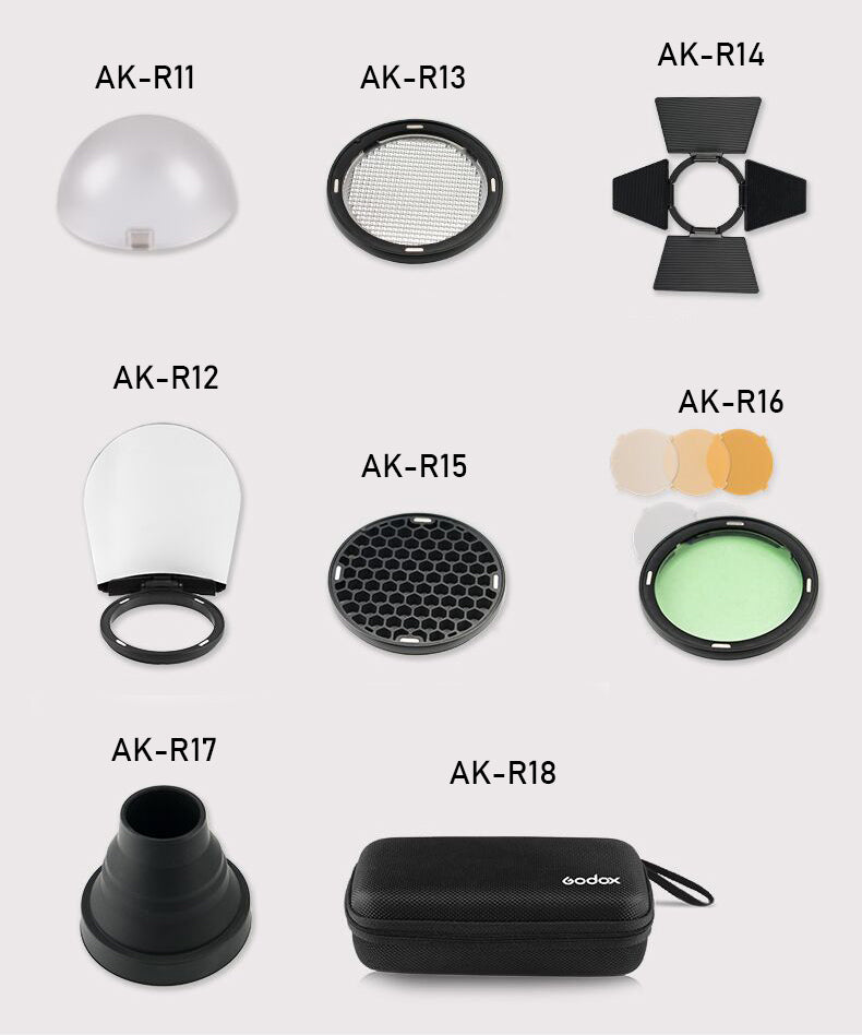 Godox AK-R1 Single Accessory for H200R Round head