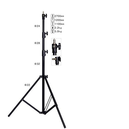 NiceFoto LS-270AT Photo equipment accessories retractable &flexible Air Cushion light stand