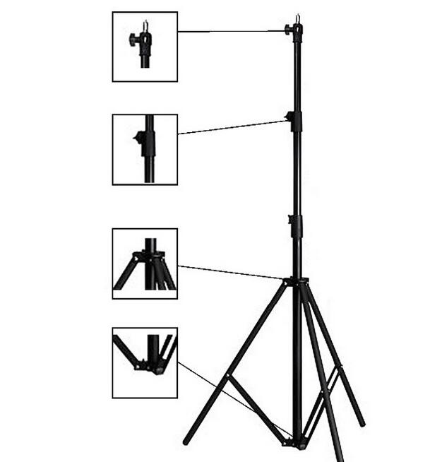 NiceFoto LS-260AT Photo equipment accessories retractable &flexible Air Cushion light stand