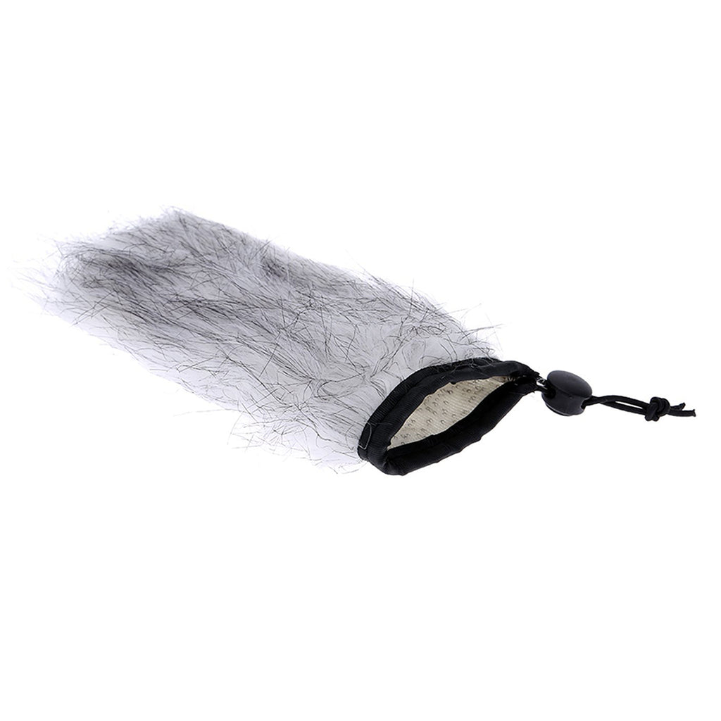 BOYA BY-B03 Fur Windscreen for PVM1000 Microphone reduces wind noise Rode Stereo VideoMic Pro With elastic cord at the opening Suitable for Boya BY-PVM1000.