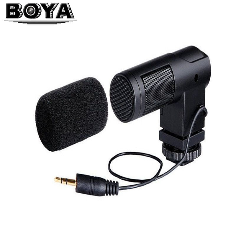 BOYA BY-V01 Stereo X/Y Condenser Microphone for Canon Nikon Pentax Sony Cameras/Camcorders