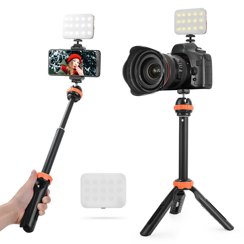 Fomito Mini LED Light IP65 Waterproof Dust-proof Magnet RGB LED KIT With Tripod 3200K-6500K