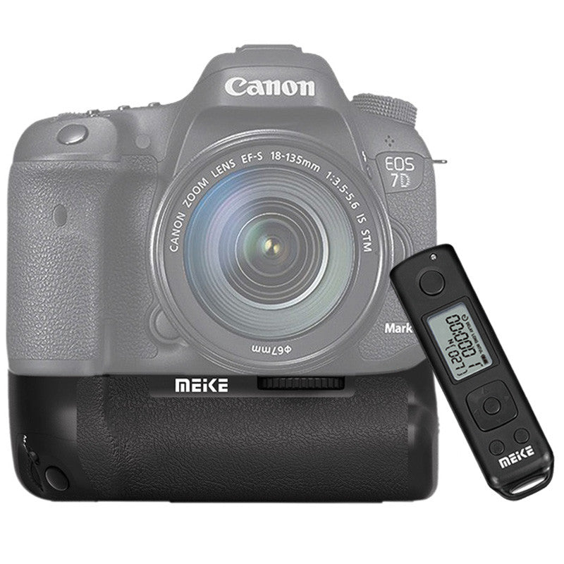 Meike MK-7DII Wireless Control Battery Grip for Canon 7D II as BG-E16 - FOMITO.SHOP