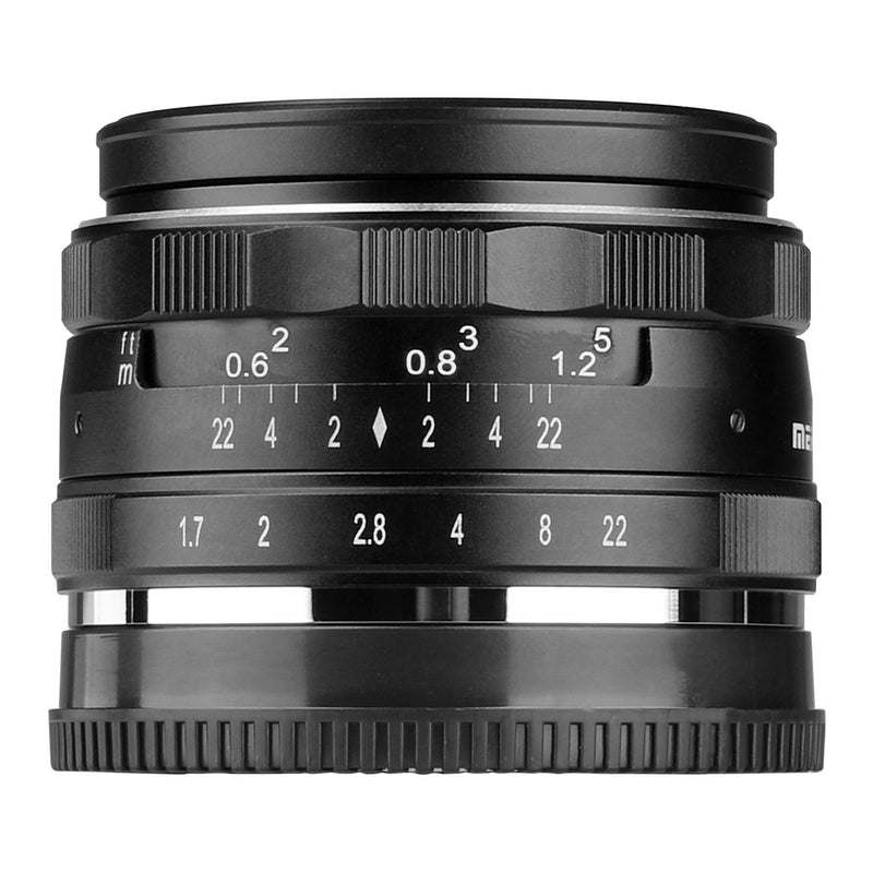 Meike MK-35mm F1.7 Standard-focal Lens Fit for Canon/Nikon/Sony/Olympus/Panasonic/Fujifilm