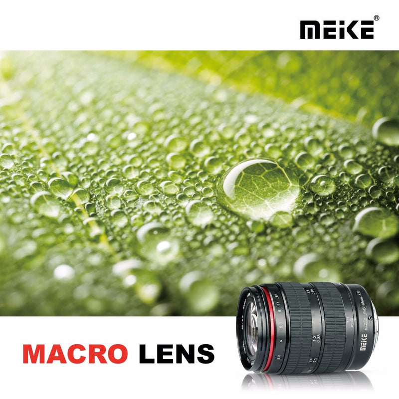 Meike MK-85mm F/2.8 Macro Lens Fit for Canon/Nikon DSLR/Sony/fuji /Panasonic