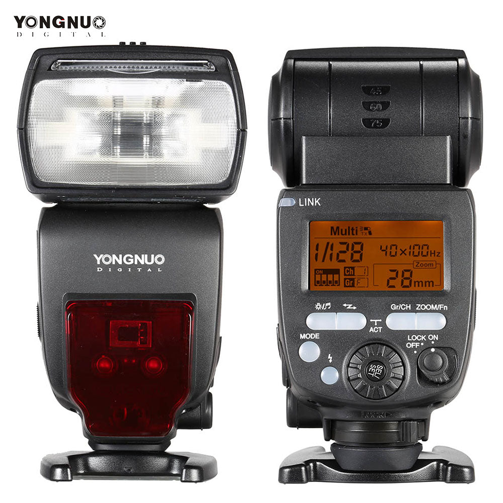 YONGNUO YN660 Flash Speedlite GN66 2.4G Wireless Radio Master Slave for Canon Nikon