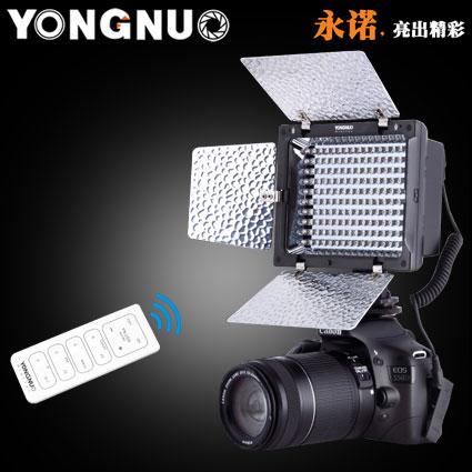 Yongnuo YN160 II 160LED Lamp 5600K LED Video Light for Camera Camcorder Remote Control Photographic Lighting