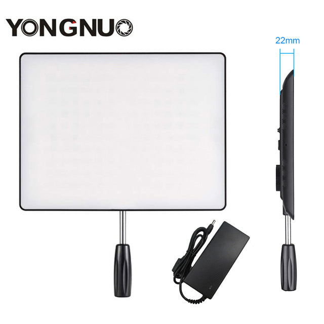 YONGNUO YN600 Air LED Camera Video 3200K-5500K Light Bi-color Photography Studio Lighting For DSLR