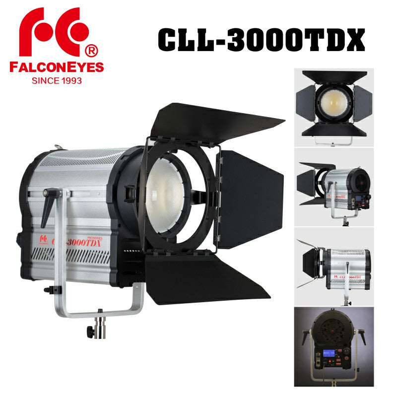 Falcon Eyes CLL-3000TDX Studio Light Photography Lamp 3000K-8000K Color  Temperature Adjustable Brightness with LCD&Touch Panel - FOMITO SHOP
