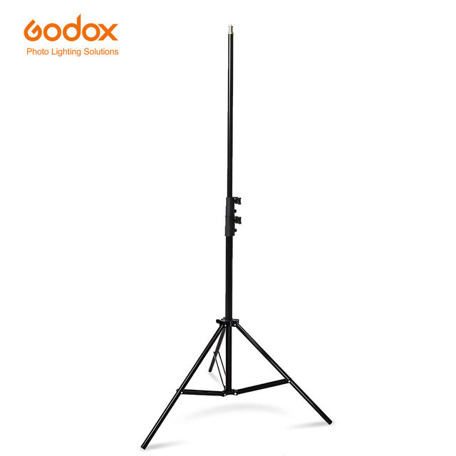 Photo tripod Godox 304 200cm stable Light Stand with 1/4 Screw Head for Studio Photo Flash Lighting