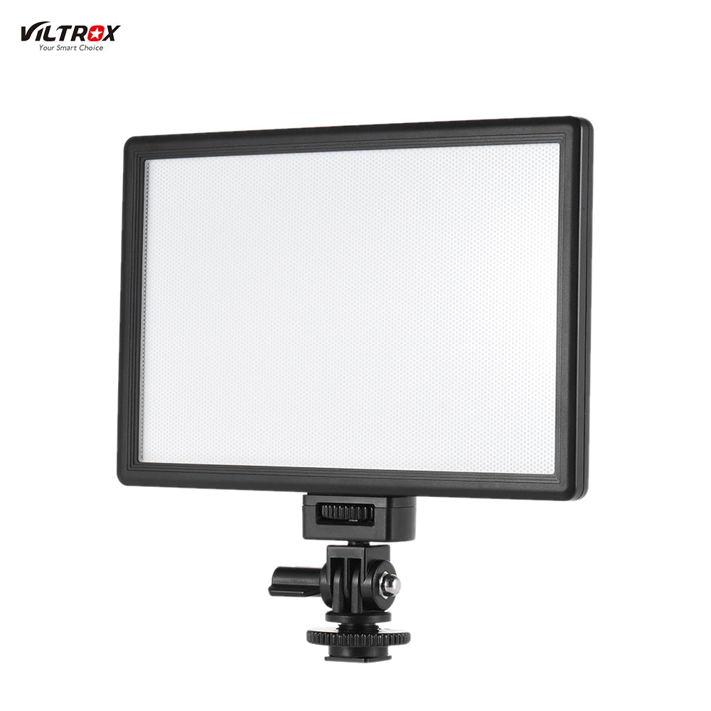 Viltrox L116T Professional LED Video Light Photography Fill Light for Canon Nikon Sony Panasonic DSLR Camera and Camcorder