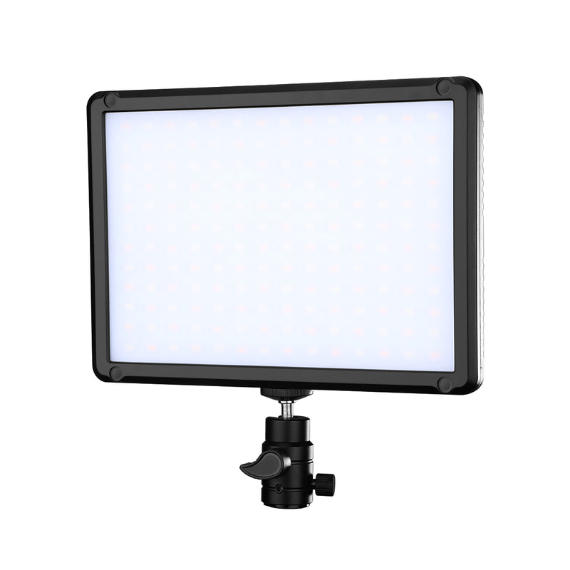 NiceFoto TC-368 RGB Mini LED Video Light Full Color 2800K--9900K Voice Control Dual Power Supply