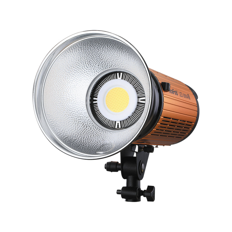 NiceFoto LED-1500A II LED-2000A II 100W/200W Bi-color Manual Video Light AC/DC Dual Power Supply