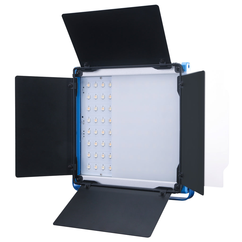 NiceFoto SL-600A Compact Bi-color LED Panel Light Dual Power Supply Mobile APP Control Metal Body
