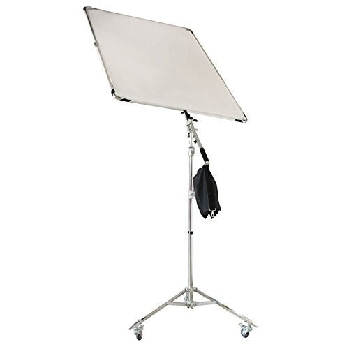 NiceFoto KT-428 Background reflector kit,Include: Bag (52*24mm) + Packge bag (148*13*15cm) + Background Reflector HG-1800 +Light stand LS-300S