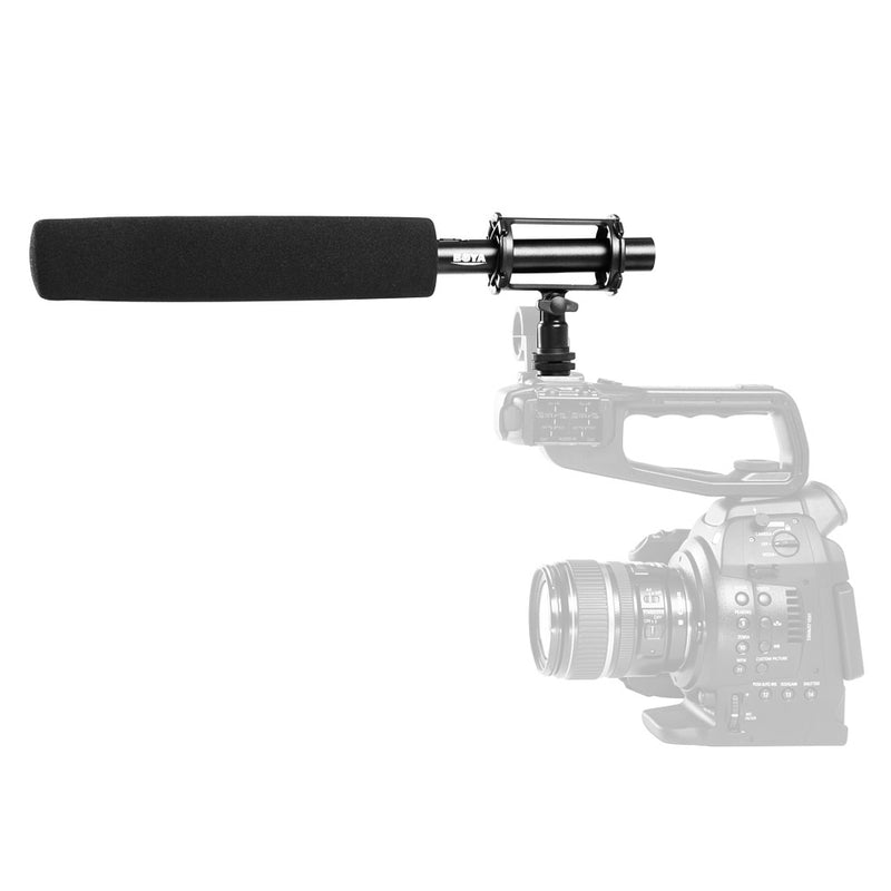 BOYA BY-PVM1000L Shotgun Microphone Direct-coupled, balanced output ensures a clean signalfor Canon Nikon Sony Video Cameras & Camcorders