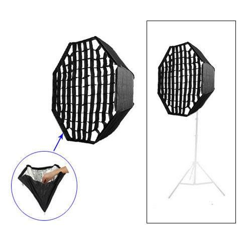 Godox Umbrella Octagon Softbox with Grid For SpeedLight/Flash 80cm/32in - FOMITO.SHOP