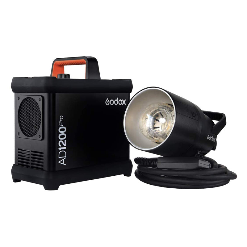 Godox AD1200Pro 1200W TTL Power Pack Kit Electric Box Set Seperate Design Outdoor Flash with Bags