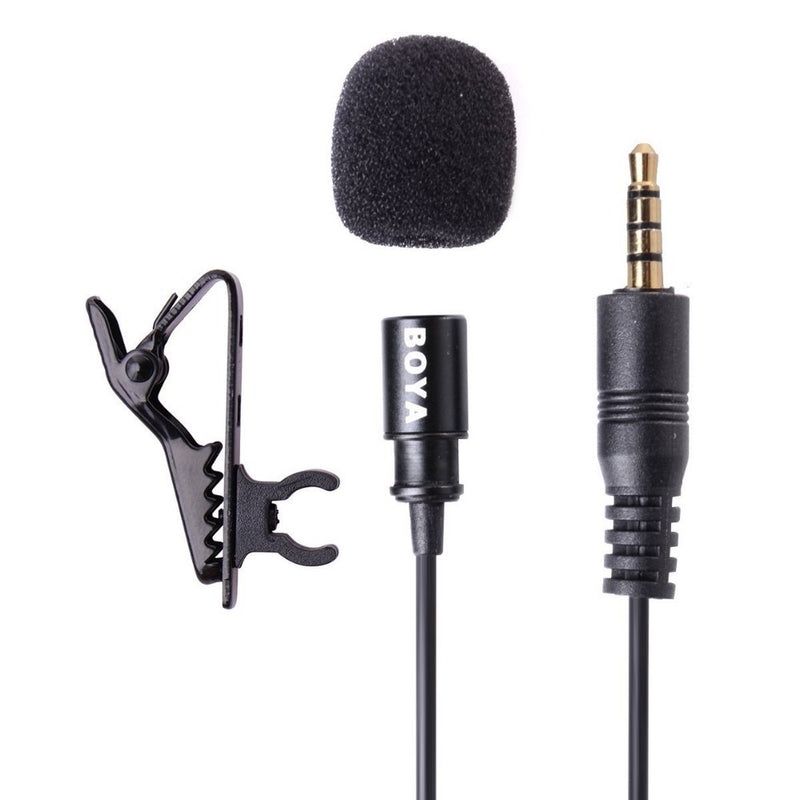BOYA BY-LM10 Lavalier Microphone Smartphone Omnidirectional  for iPhone 6 6s 5 4s Xiao Sumsang S6 S5 S4 HTC smartphone