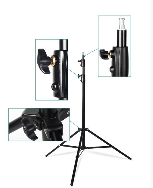 NiceFoto LS-280B Photo equipment accessories retractable &flexible light stand