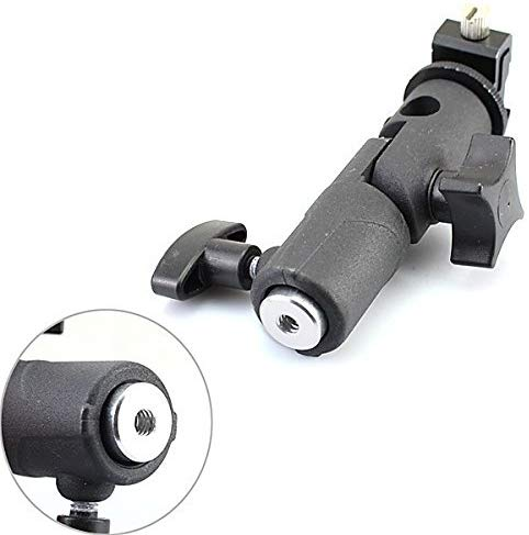 Fomito Metal E-type Flash Holder Universal Hot Shoe Bracket Tripod for Reflective Umbrella