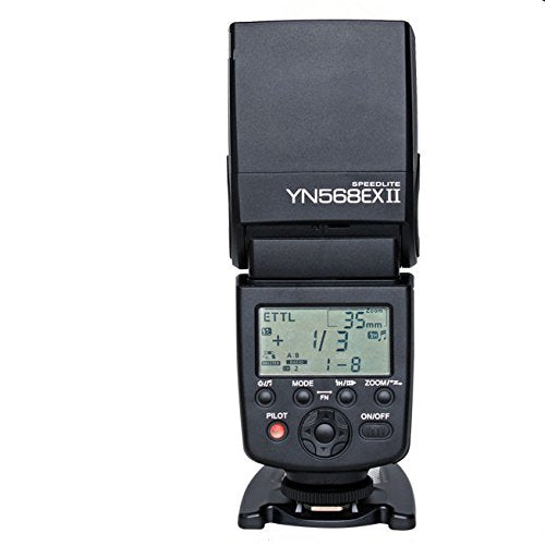 Yongnuo YN-568EX II, YN568EX II Flash, High speed, Ultra powerful GN master control, Off camera speedlite for Canon - FOMITO.SHOP