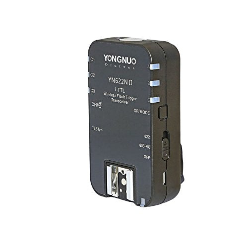 YONGNUO YN622N II Wireless TTL Flash Trigger with High-speed Sync HSS 1/8000s for Nikon Camera - FOMITO.SHOP