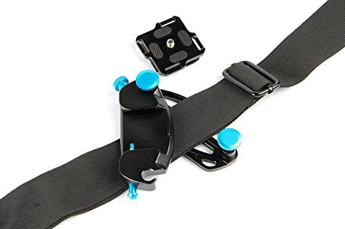 Fomito K0 Blue Metal Camera Waist Spider Belt Holster 1/4″ Screw Quick Strap Buckle - FOMITO.SHOP