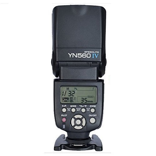 YONGNUO YN-560 IV Flash Speedlite for Canon Nikon Pentax Olympus DSLR Cameras - FOMITO.SHOP