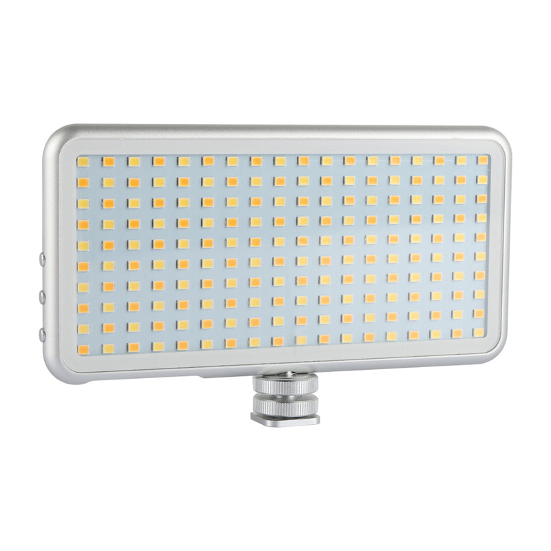 Fomito LED180 Built-in Battery LED Light Panel Dimmable Portable Fill Light with USB cable