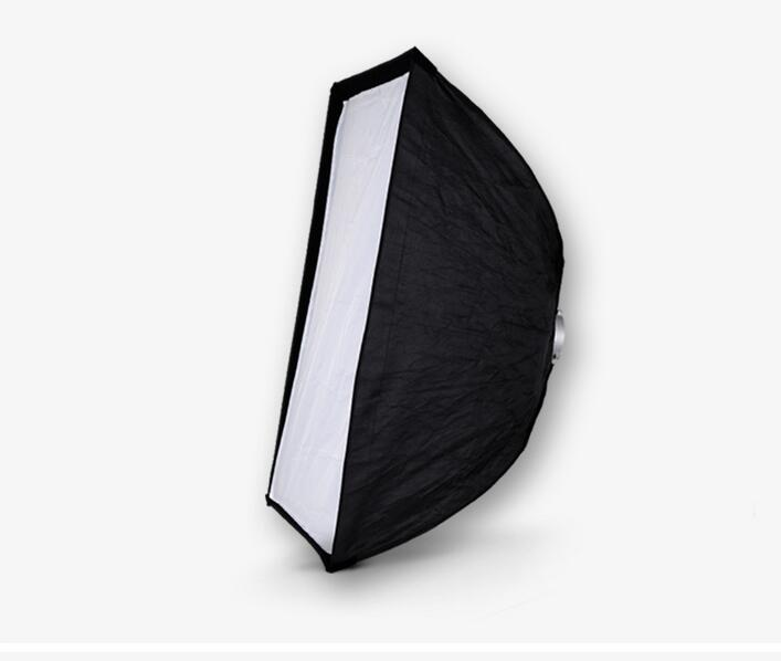 NiceFoto K70*100cm Umbrella Frame Photo Studio Square Softbox For All Strobe Flash Lighting
