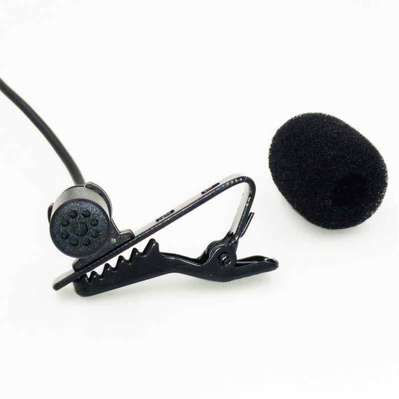 BOYA BY-M4OD Lavalier Microphone Includes lapel clip, foam windscreen Broadcast-quality condenser mic is ideal for video use