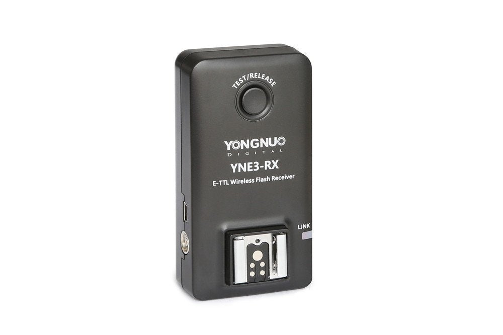 YONGNUO E-TTL YNE3-RX Wireless Remote Flash Receiver for YN-E3-RT/ YN600EX-RT/ ST-E3- RT/ 600EX-RT - FOMITO.SHOP