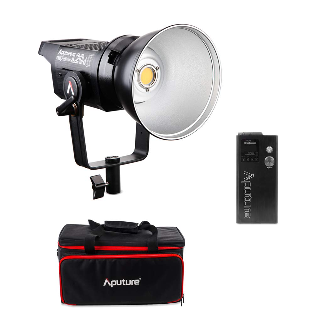 Aputure LS C120d II Light Storm Studio LED Video Light 5 FX effects 330 degrees adjustable body