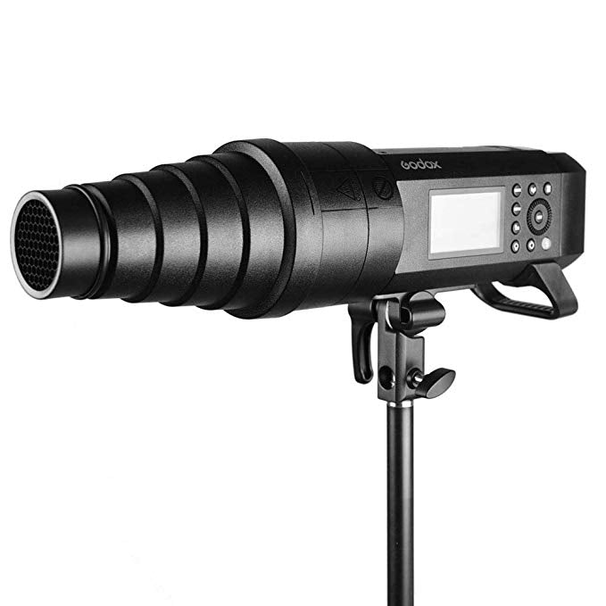 Godox SN-04 SN04 Snoot with Honeycomb Grid Compatible with Godox AD400Pro Studio Flash Speedlite