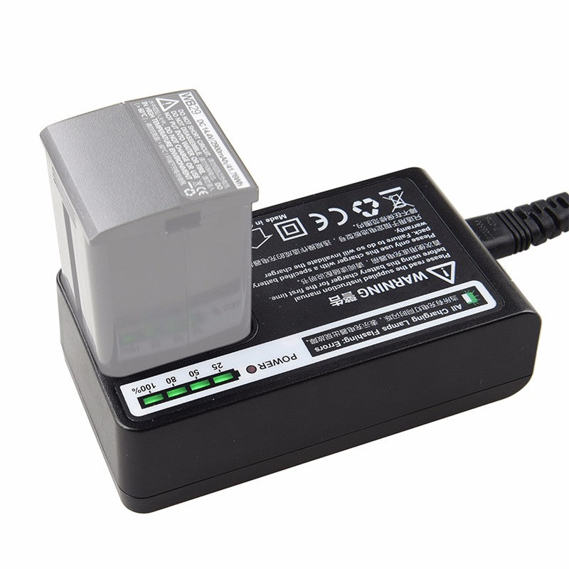 Godox C29 Charger for WB29 Lithium Battery for AD200 Camera Flash Speedlite Power Supply Adapter and Cable