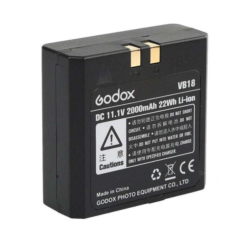 Godox VB18 powerful convenient Li-ion Battery for Godox VING V850II V860 V860II Flash