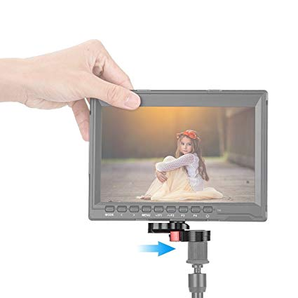 Fomito Quick Release Plate for Camera Video Monitor, Margic Arm Flash Bracket