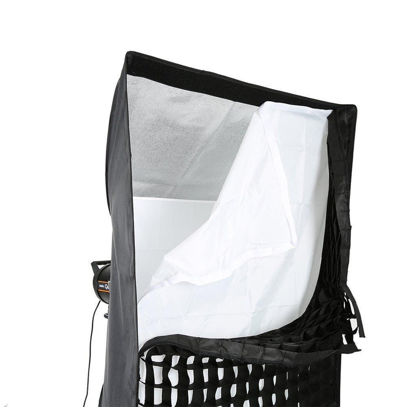 "Godox 80 X 120cm / 31.5"" X 47.24"" Studio Softbox Bowens Mount with grid - FOMITO.SHOP"