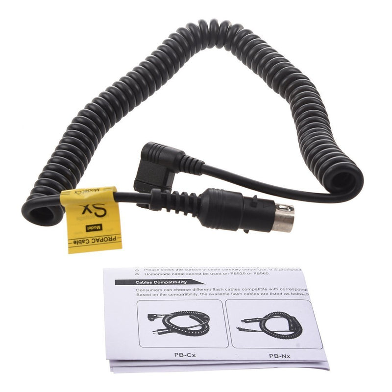 Godox PB820/PB960 External Flash Battery Pack Cable PB-Sx for Sony (Black) - FOMITO.SHOP