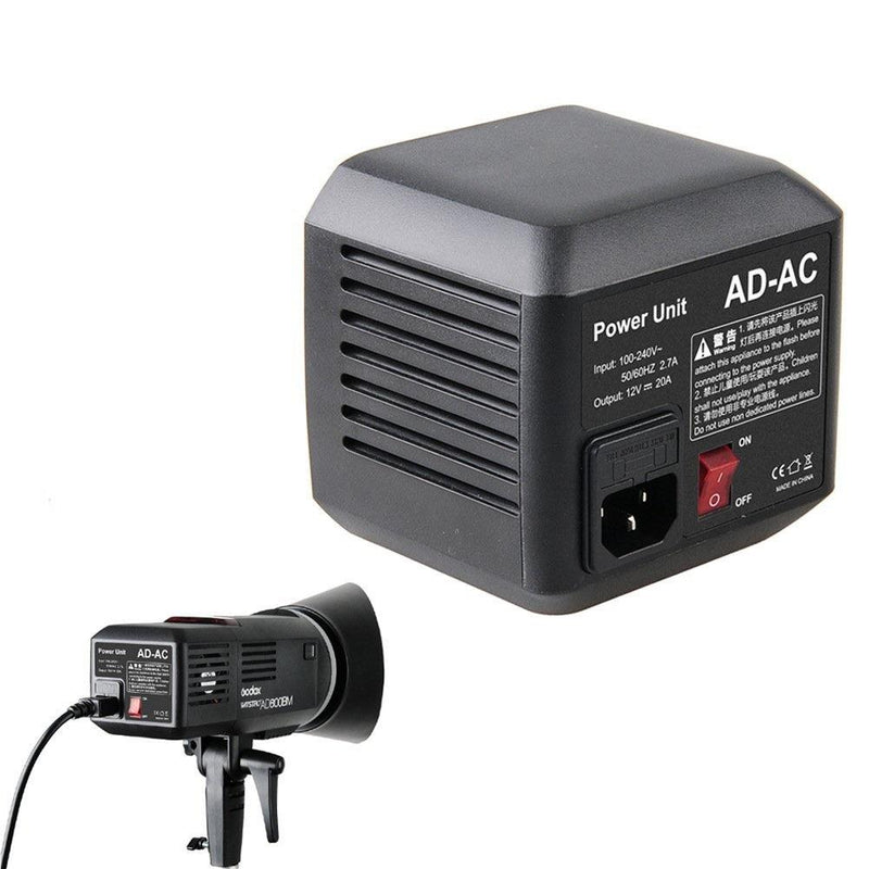 Godox AD-AC AC Power Unit Source Adapter with Power Cable for Godox AD600 - FOMITO.SHOP