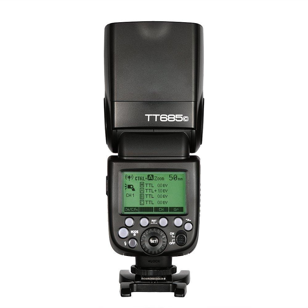 GODOX TTL TT685C Camera Flash 2.4GHz High Speed 1/8000s GN60 for Canon