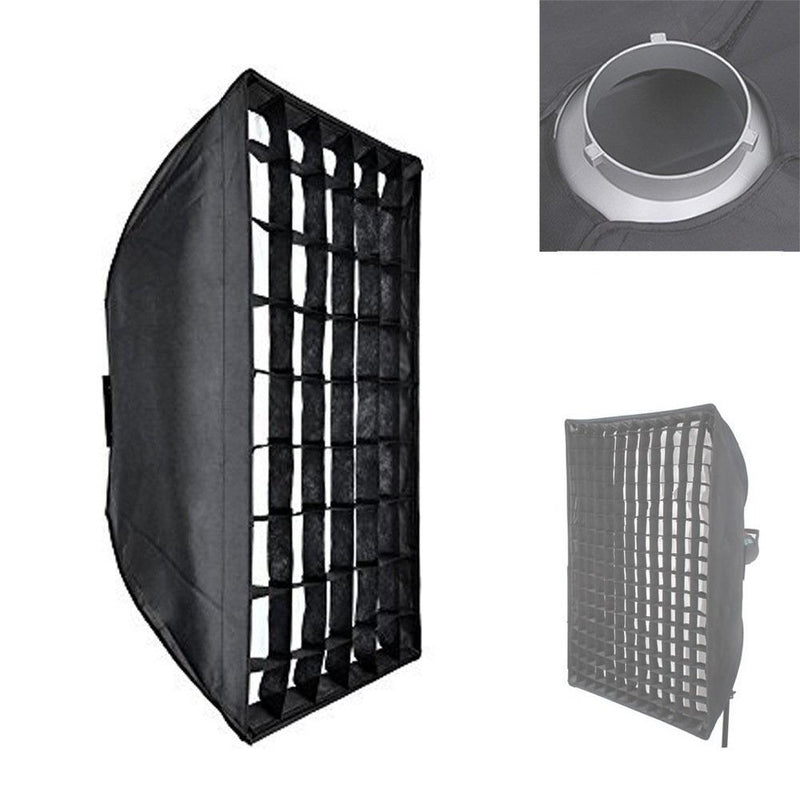 "Godox 60 X 60cm / 23.6"" X 23.6"" with Bowen Mount and Honeycomb Grid - FOMITO.SHOP"