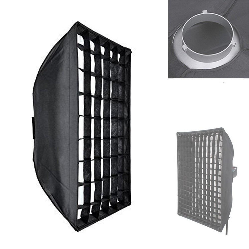 "Godox 60 X 90cm / 23.6"" X 23.6"" with Bowen Mount and Honeycomb Grid - FOMITO.SHOP"