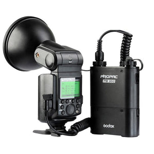 Godox Witstro AD360II-N Speedlite Flash Light kit for Nikon Camera (AD360II-N Black)
