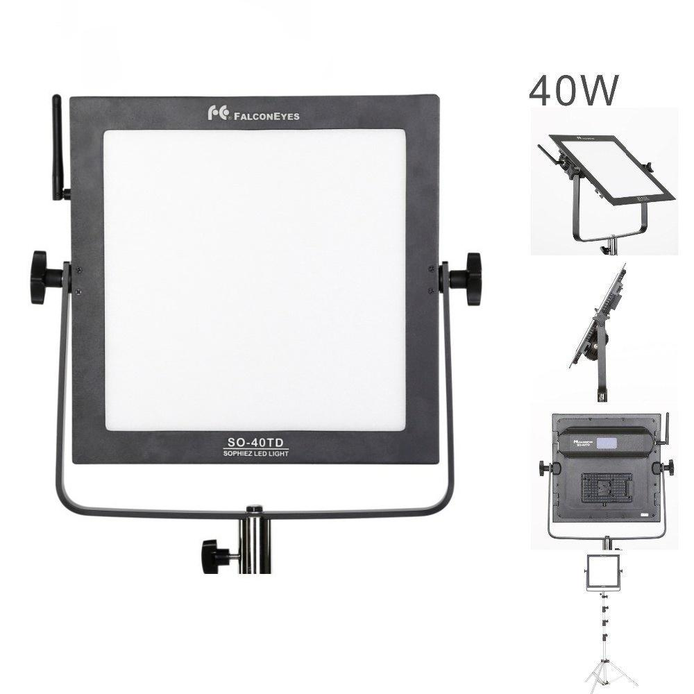 FalconEyes SO-40TD 40W Led Panel Lamp Square Soft Studio Light - FOMITO.SHOP