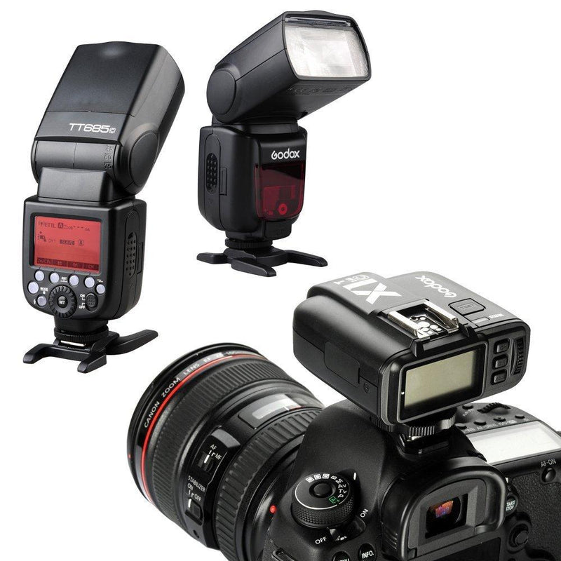 Godox X1T-C 2.4G E-TTL Wireless LCD Flash Transmitter for Canon Camera - FOMITO.SHOP