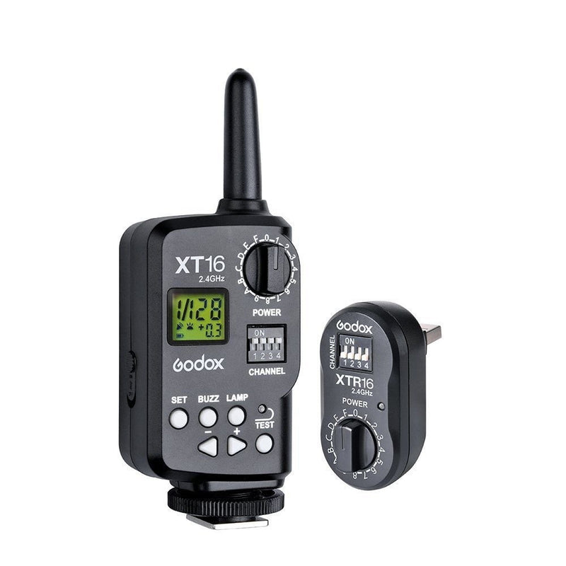 Godox XT-16 Wireless 2.4G Remote Control Flash Trigger + Receiver