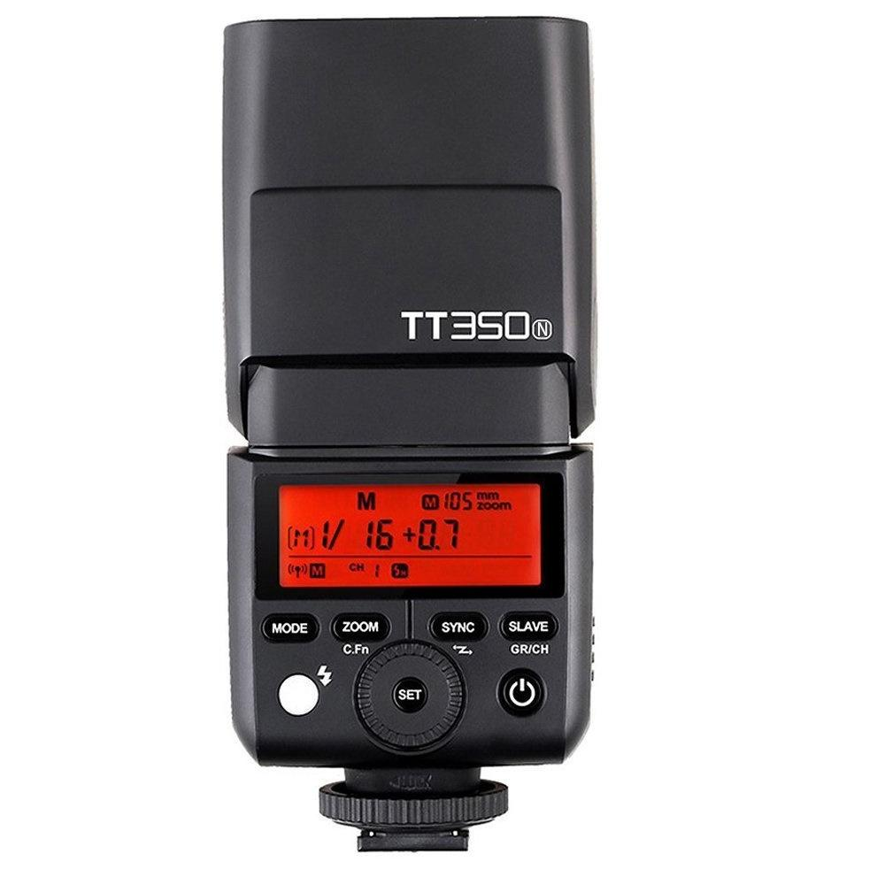 Godox TT350N  TTL GN36 HSS 1/8000s Wireless Speedlite Flash for Nikon - FOMITO.SHOP