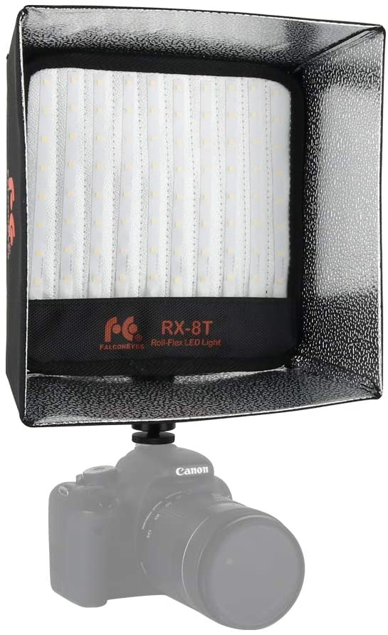 Falcon Eyes RX-8OB Extended Softbox Diffuser + RX-8SB Standard Diffuser for RX-8T RX-8TD LED Light